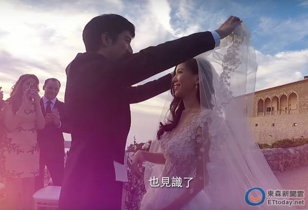 王力宏古堡婚礼画面曝光