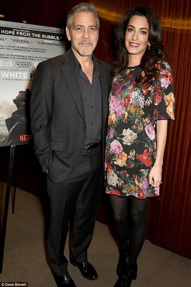 乔治和妻子阿玛尔