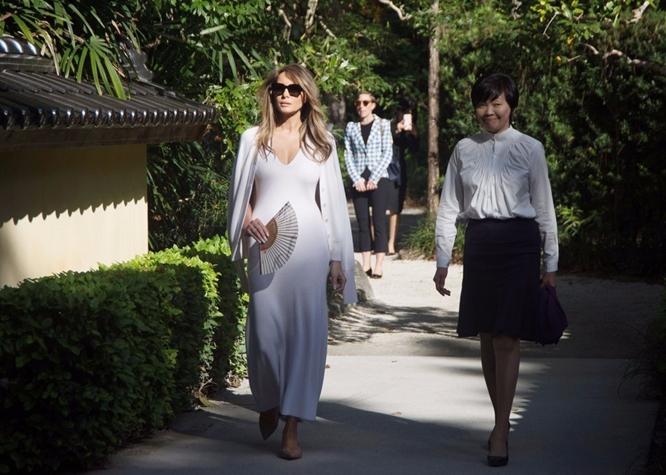"""Лидеры США и Японии проводят """"встречу без галстуков"""" в гольф-клубе Дональда Трампа """"Маралаго"""""""
