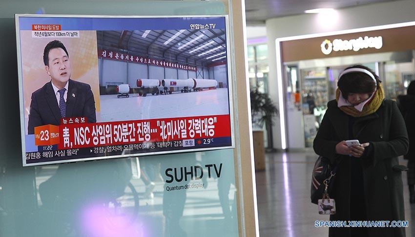 Corea del Sur indica que el misil se dirigía hacia la costa este