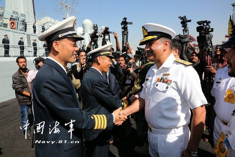 """بدء المناورات البحرية المشتركة متعددة الجنسيات """"السلام - 17"""""""