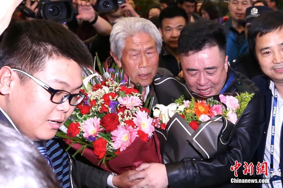 Wang Qi, 78 ans, rentre en Chine après 54 ans passés en Inde