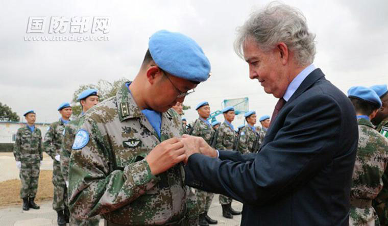 Chinese peacekeepers to Liberia win UN peace medals - CCTV