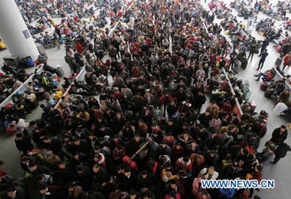 Chine : mise en service de trains supplémentaires durant le pic de voyages