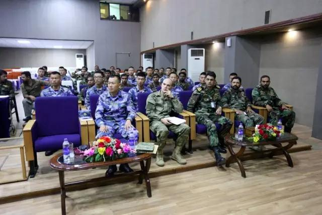 الدول المشاركة تقيم فعاليات متنوعة في إطار المناورات العسكرية البحرية في باكستان