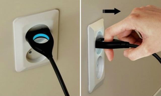 La prise électrique facile à utiliser