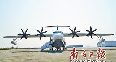 全球在研最大水陆两栖飞机ag600发动机首次试车成功