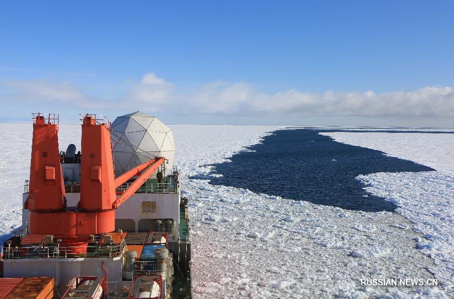 Китайские исследователи завершили задания по выбору оптимальной площадки для 5-й антарктической станции