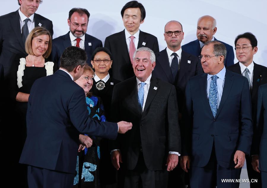 انطلاق اجتماع وزراء خارجية الدول الأعضاء في مجموعة العشرين في ألمانيا