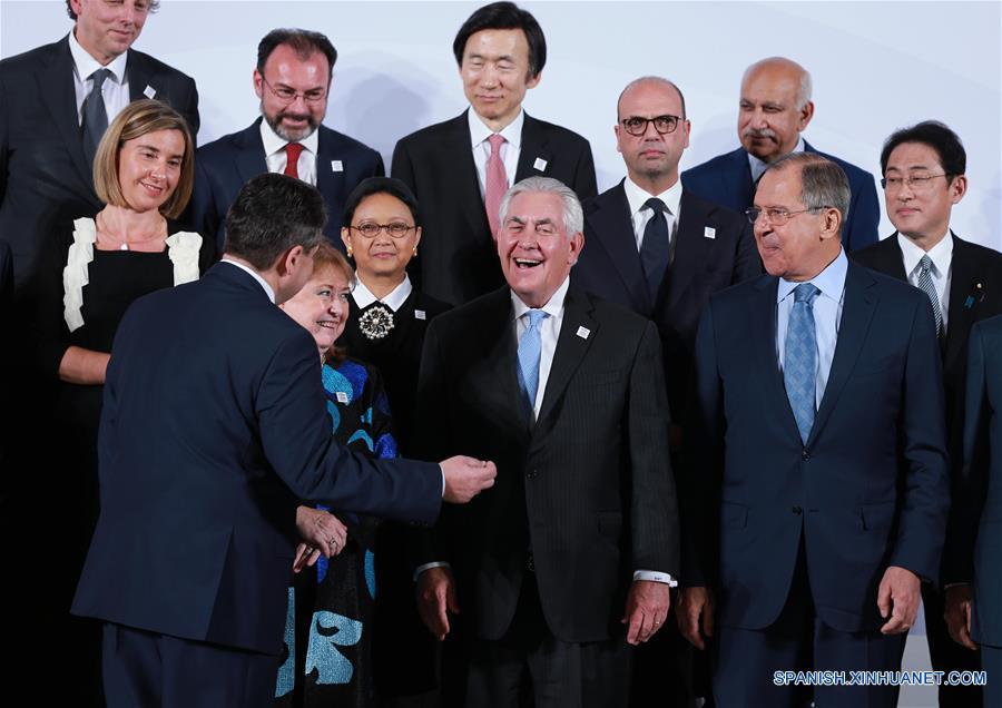 Los Ministros de Relaciones Exteriores del Grupo de los 20 (G20) comenzaron una reunión en la ciudad alemana de Bonn.(Xinhua/Luo Huanhuan)