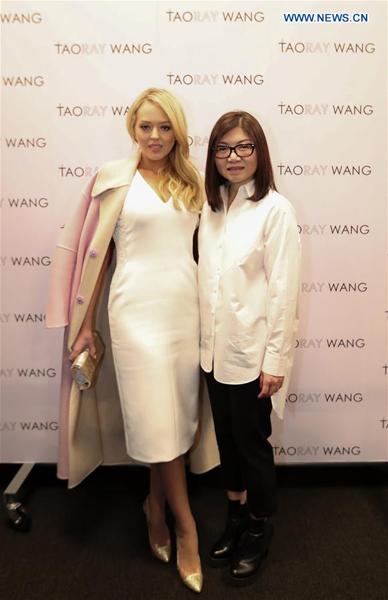 Tiffany Trump asistió a show de Wang Tao