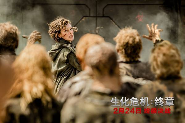 《生化危机:终章》特辑 米拉再度诠释战神爱丽丝