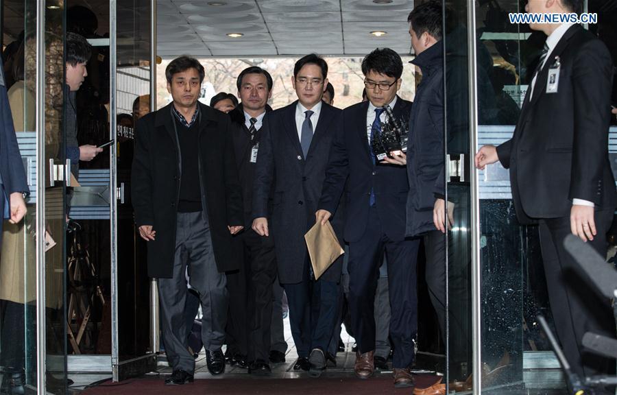 Un tribunal surcoreano ordena el arresto del vicepresidente de Samsung