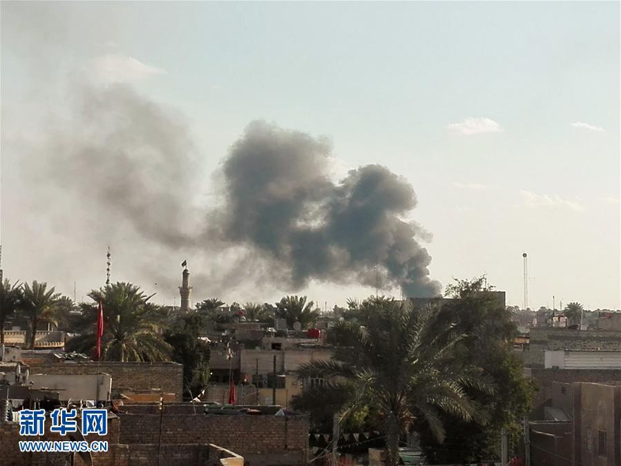 سقوط أكثر من مئة بين قتيل وجريح بانفجار جنوبي بغداد