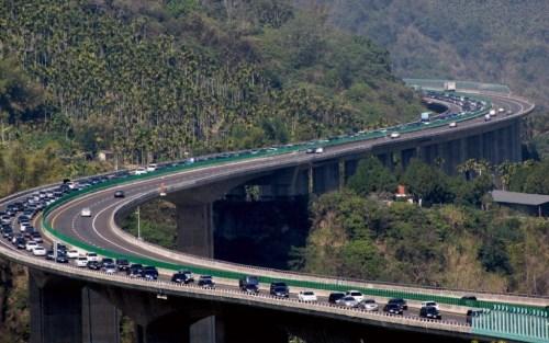 台湾高速公路示意图(资料图)