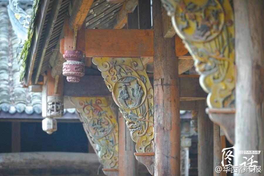 Se talla en el alero el cuento famoso chino cerca de la conciliación entre el general y el primer ministro feudal