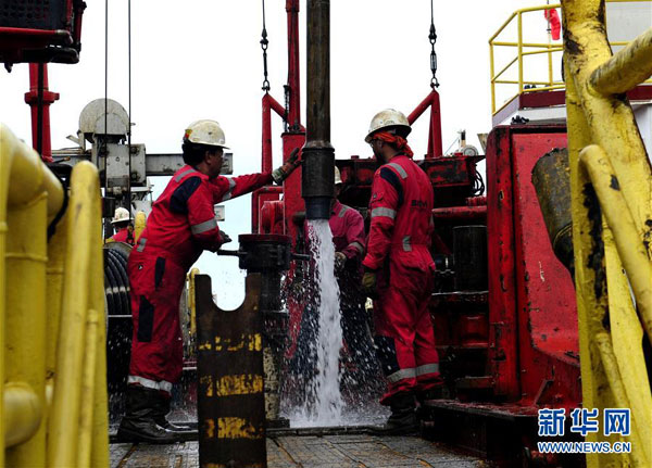 Beijing completing work on structures in South China Sea