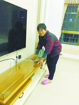 钟丽娟的婆婆爱上在厦门的生活。