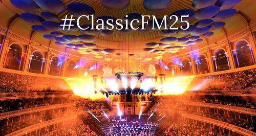 英国古典调频2017年将通过一系列特别策划的节目和活动来庆祝开播25周年