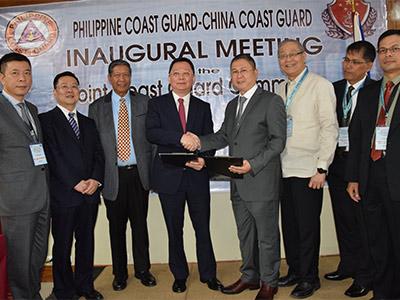 Морская полиция Китая укрепляет сотрудничество с филиппинскими коллегами