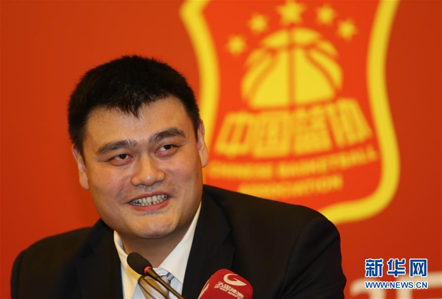 انتخاب ياو مينغ رئيسا جديدا للإتحاد الصيني لكرة السلة