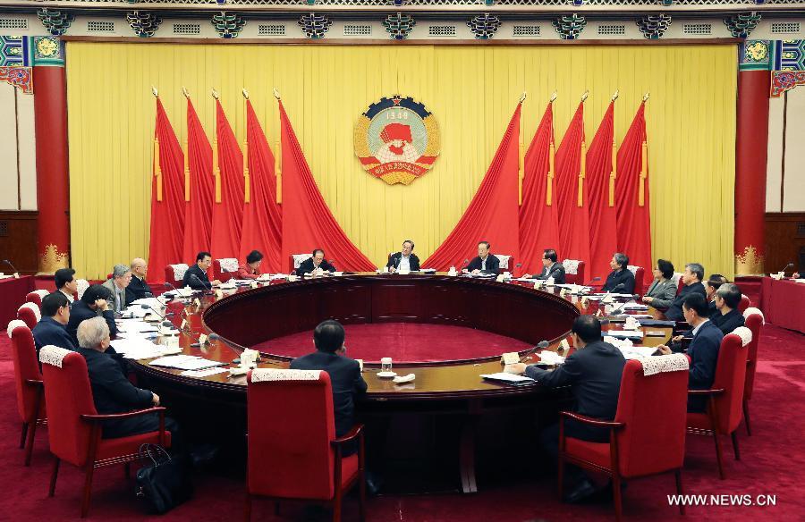 انعقاد اجتماع للمستشارين السياسيين الصينيين