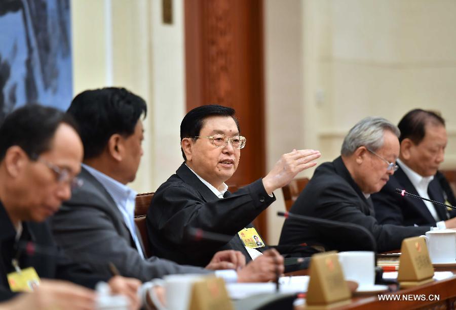 نواب بارزون يشيدون بعمل الجهاز التشريعي الصيني في 2016