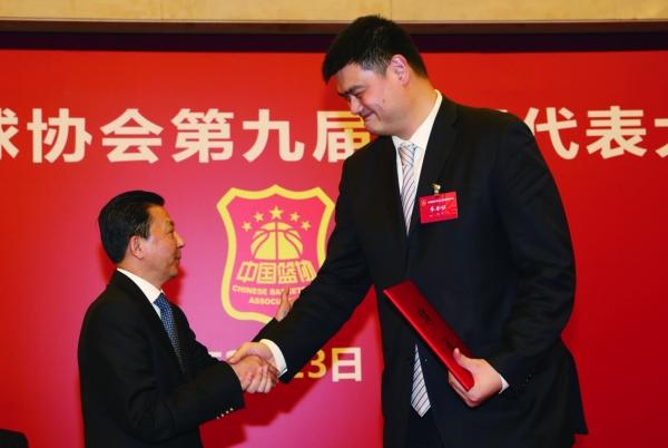 Yao Ming élu président de l