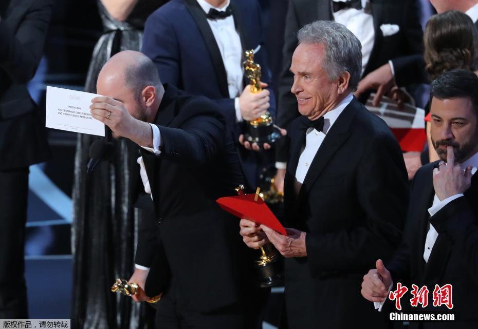 «Moonlight» et «La La Land» triomphent aux Oscars