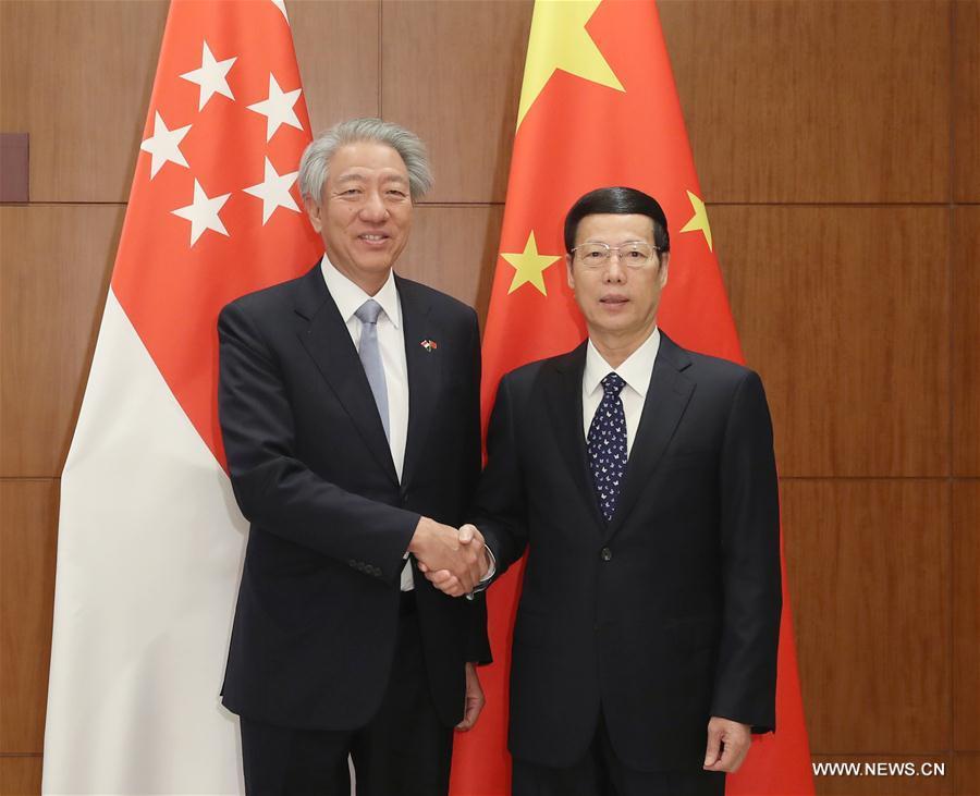 La Chine et Singapour établissent des priorités pour la coopération future