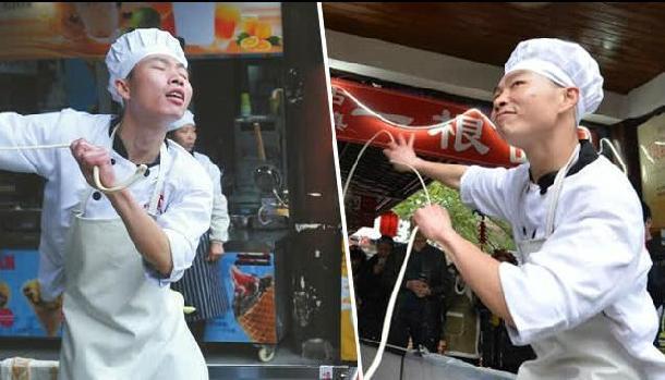 Un cuisinier de Chengdu devient célèbre sur Internet pour ses dons de danseur