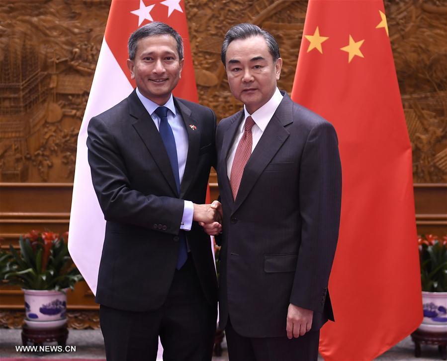 La Chine et Singapour renforceront leur coopération sur l