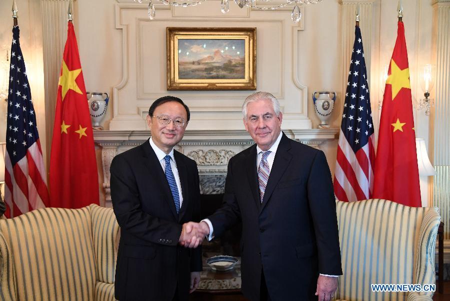 La Chine et les Etats-Unis conviennent de renforcer leurs échanges à tous les niveaux et d