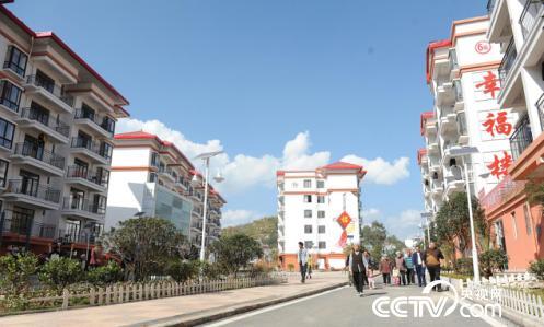 明田新村,是惠水县易地扶贫搬迁代表性的安置点。