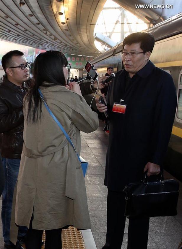Wang Jinghai, a deputy to the 12th National People