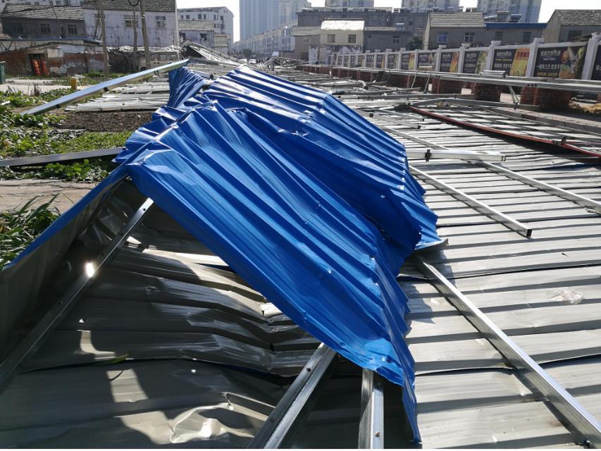 江苏盐城大风灾害致5死 直接经济损失1170万