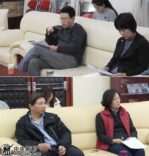 上:王鹏、孟亚东,下:瞿卫军、王丽