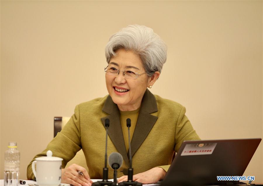 Fu Ying, spokesperson for the fifth session of China