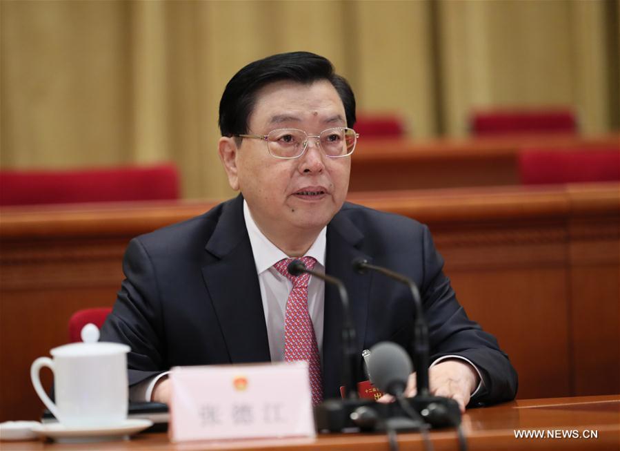 Chine : la session annuelle de l