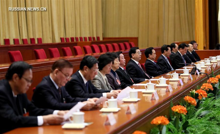 В Пекине состоялось подготовительное заседание 5-й сессии ВСНП 12-го созыва