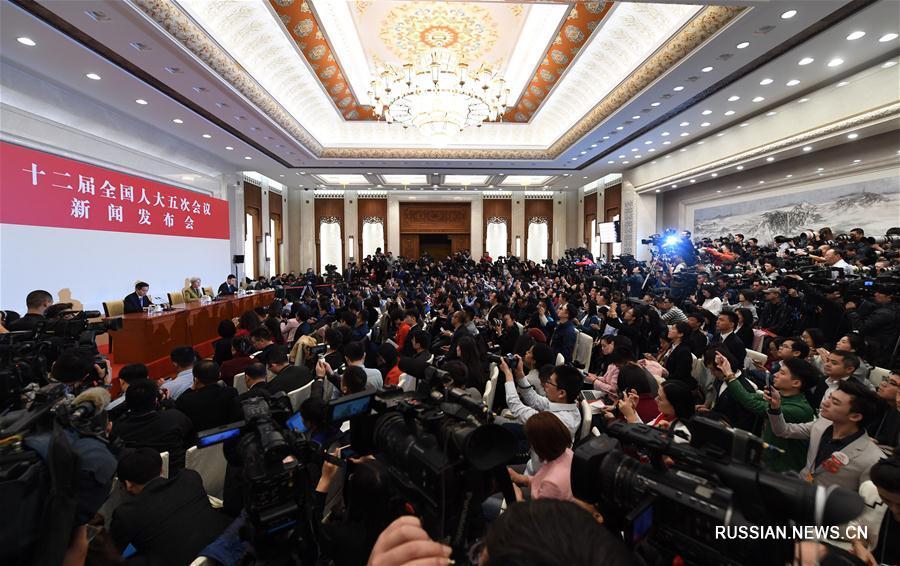 ВСНП провел пресс-конференцию перед открытием ежегодной сессии
