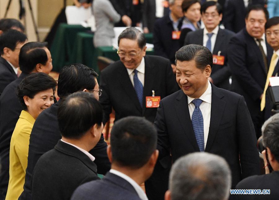 Le président Xi veut que les partis non-communistes jouent un plus grand rôle