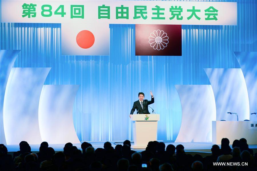 Japon : une modification de la limite de mandats au sein du PLD permet à Abe de rester au pouvoir jusqu
