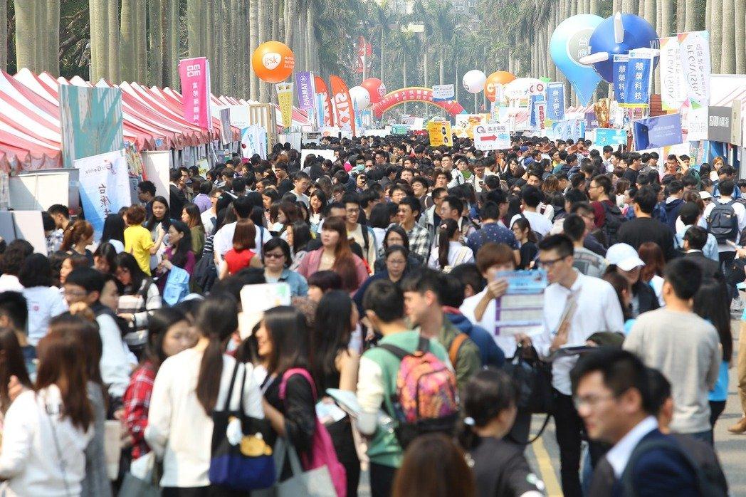 台湾年轻人薪资35年没变。(图片来源:台湾《联合报》)