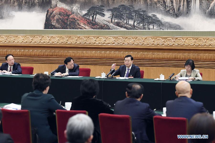 Des dirigeants chinois révisent le rapport d