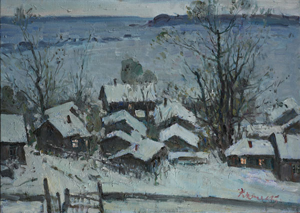 冬夜,作者:郑光旭