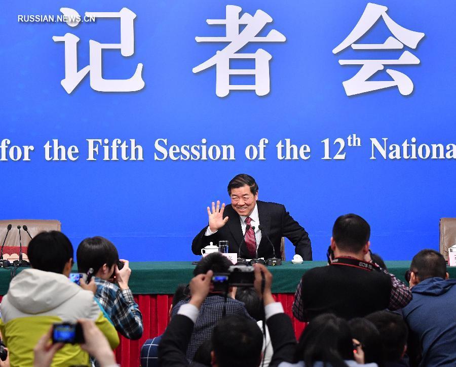 """/Сессии ВСНП и ВК НПКСК/ Хэ Лифэн: целевое значение роста ВВП Китая на 2017 год """"необходимо и достижимо"""""""