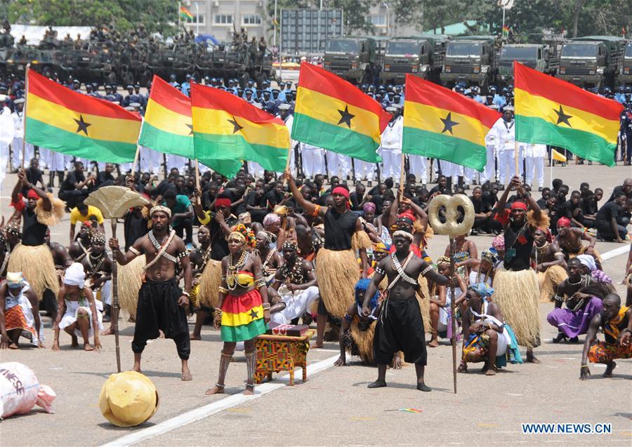Le Ghana célèbre sa 60ème fête de l