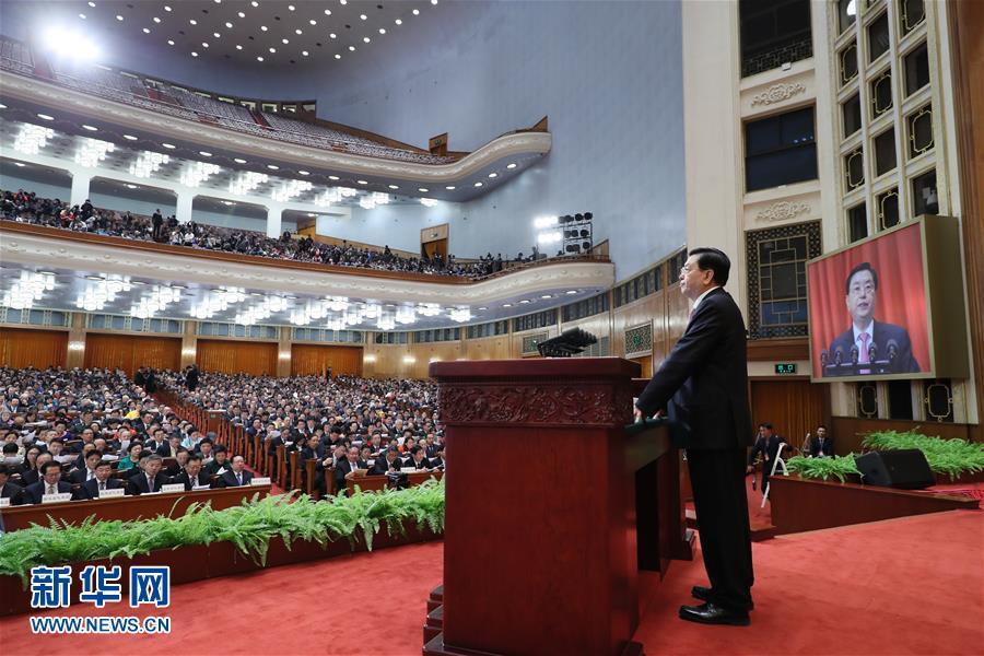 Чжан Дэцзян отчитался о работе ПК ВСНП в 2016 г. и озвучил задачи на 2017 г.