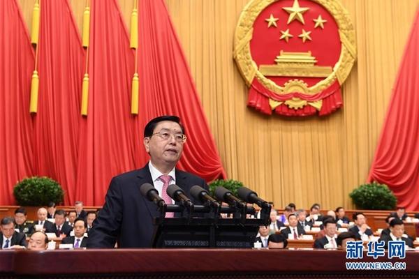 انعقاد الجلسة الكاملة الثانية للدورة الخامسة للمجلس الوطني الثاني عشر لنواب الشعب الصيني